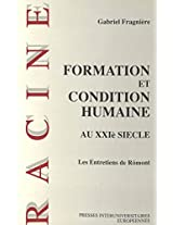 Formation Et Condition Humaine