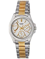 Casio Enticer Analog White Dial Women's Watch  - LTP-2089SG-7AVDF (A1039)