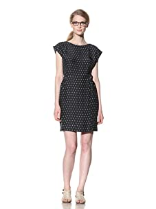 Steven Alan Women's Hannah Dress (Dark Navy/Ivory Print)