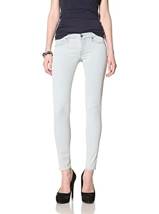 Driftwood Women's Skinny Jean (Blue Bleach)