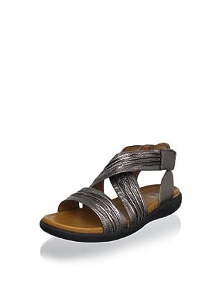 Cougar Women's Bolero Ankle-Strap Sandal (Pewter)
