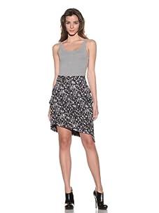Preen Line Women's Printed Apartment Skirt (Black)