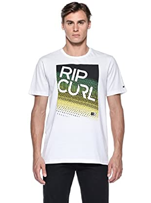 Rip Curl T-Shirt Stomp S/S Tee (Bianco)
