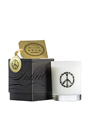 Xela Aroma 14-Oz. INKED Candle with Peace Icon