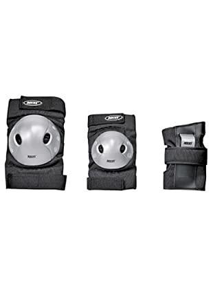 Roces Pack 3 protecciones Basic Sr (negro/gris)