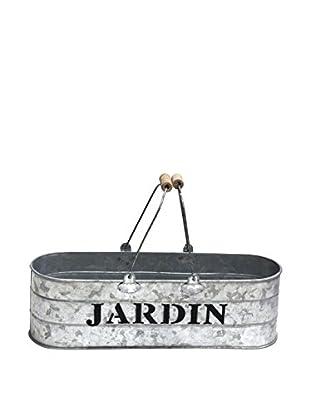 Metal Basket, Grey