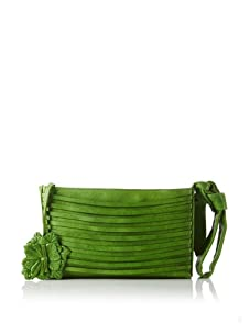 Nanette Lepore Women's Flower Wristlet Clutch (Grass)
