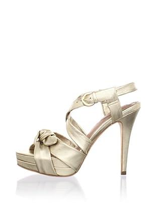 Corso Como Women's Ferran Strappy Sandal (Platinum)