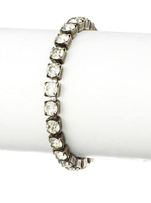 Lulu Frost 1920's Art Deco Single Strand Tennis Bracelet