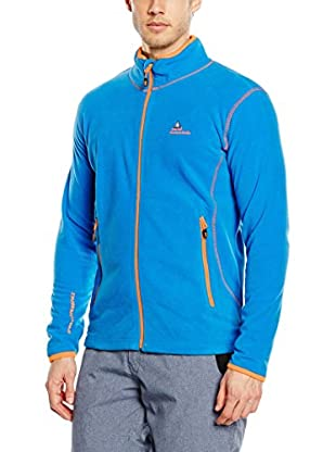 Peak Mountain Giacca in Pile Cartel Blu Royal 2XL