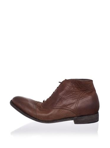 JD Fisk Men's Morrison Boot (Brown Leather)