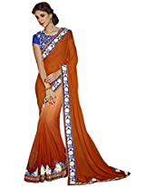CSE bazaar Women Indian Traditional Party Wear Saree Wedding Sari Dress