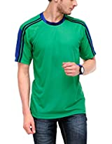 Yepme Men's Multi-Coloured Sports Polyester T-shirt -YPMTEES0291_S