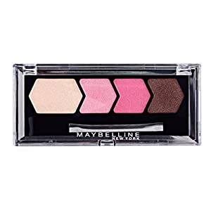Maybelline Diamond Glow Quad Eye Shadow, Wine Pink