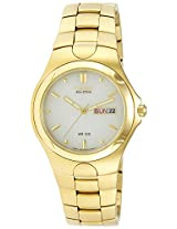 Citizen Eco-Drive Analog Yellow Dial Mens Watch-BM8082-53P
