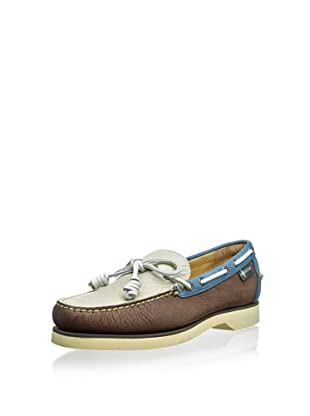 Eastland Men's Sullivan 1955 Edition Collection Boat Shoe (Brown/Bone/Blue)