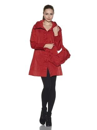 Rainforest Women's Packable Travel Coat (Pomegranate)