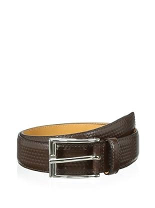Leone Braconi Men's Calfskin Belt (Brown)