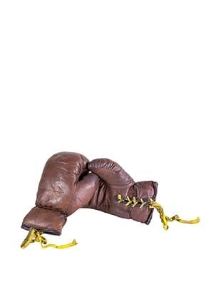 Gargoyles Ltd. Vintage Replica Pair of Boxing Gloves, Black