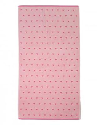 Harlequin Handtuchserie Lovehearts (Pink)