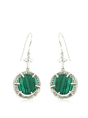 Yocari Pendientes Jade Verde