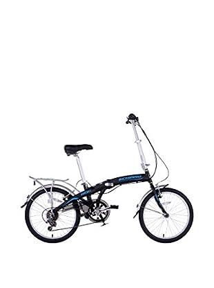 SCHIANO Fahrrad 20 Riducibile 06V.Shimano Alloy 211 schwarz/blau
