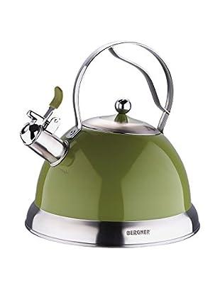 Bergner Teekessel Milano 23 cm Verde