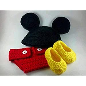 HighKnit Mickey Inspired Cute Baby Wear