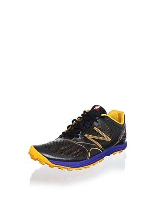 New Balance Men's MT110 Running Shoe (Black/orange)