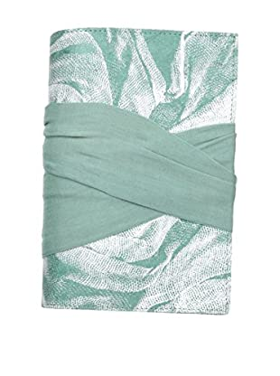 Marina Vaptzarov Malmal Closure Journal, Pale Blue/Green