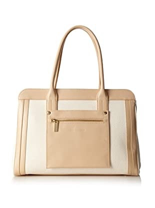 Charles Jourdan Women's Jackie Satchel (Natural)