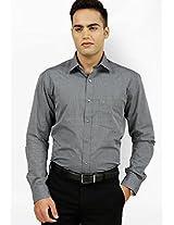 Solid Grey Formal Shirt Kingswood