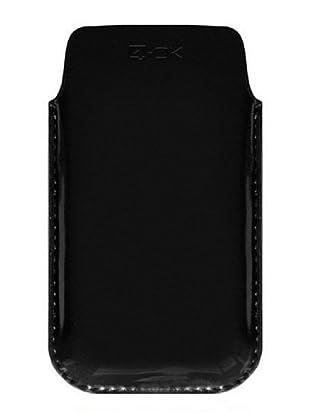 Blautel iPhone Funda 4-Ok Soft Negro