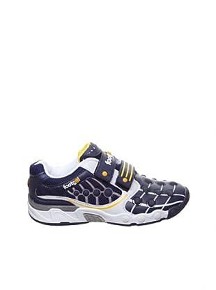Footgol Sneakers Doppelklett (Blau)