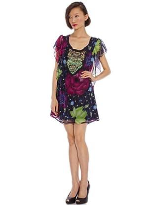 Custo Vestido Irma tiffany (negro)