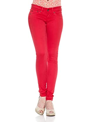 Pepe Jeans London Pantalón Skittle (Rojo Claro)