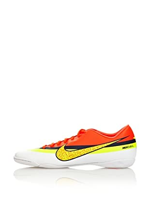 Nike Botas Fútbol Mercurial Victory Iv Cr Ic (Blanco / Naranja / Amarillo)