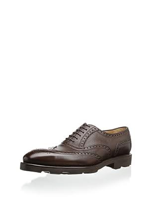 Carlos Santos Men's Costa Dress Shoe (Brown)
