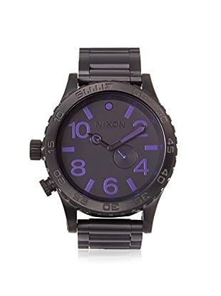 Nixon Men's A057-714 The 51-30 Tide Black Stainless Steel Watch