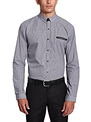 Selected Homme Camisa Hombre Conecuh (Azul)
