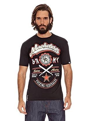 Grimey Wear Camiseta Macheteros (Negro)
