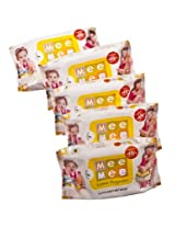 Mee Mee Baby Wet Wipes with Lemon Fragrance - 30pcs (Pack of 5)