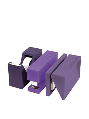 Lexon Buro Craft Set, Purple