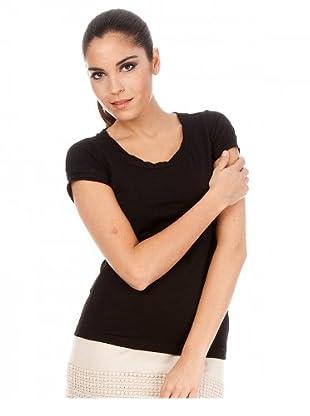 Cortefiel T-Shirt (Schwarz)