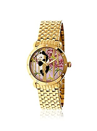 Bertha Women's BR4502 Lilly Gold/Multicolor Stainless Steel Watch