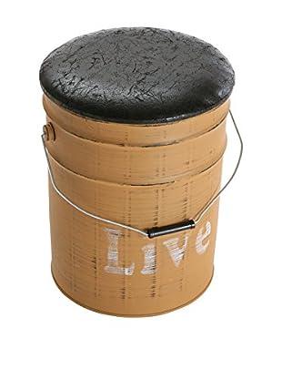 Mimma Puf Antiguo Barrel Live