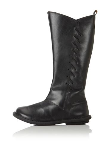 Kickers Kid's Picahuete Boot (Big Kid) (Black)