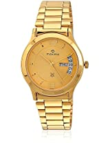 Maxima Gold Collection Watch For Men 06364CMGY