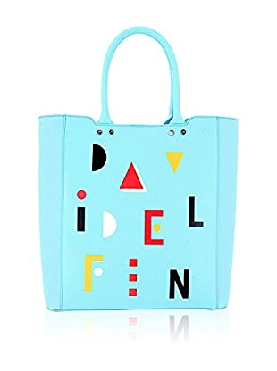 davidelfin Bolso shopping Name Game Azul