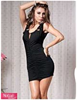 Gorgeous Mini Black Dress NY7426